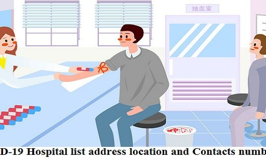 COVID 19 hospital list in Bangladesh address and phone number