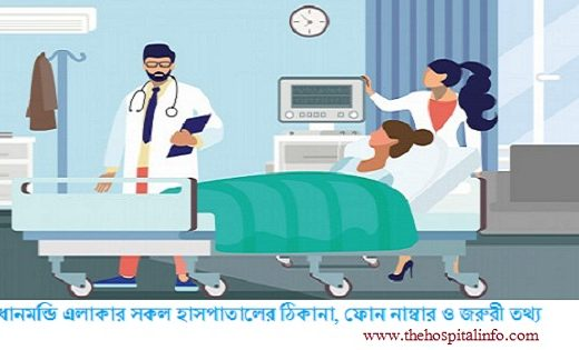 List of the hospital in Dhanmondi Dhaka with address & contacts