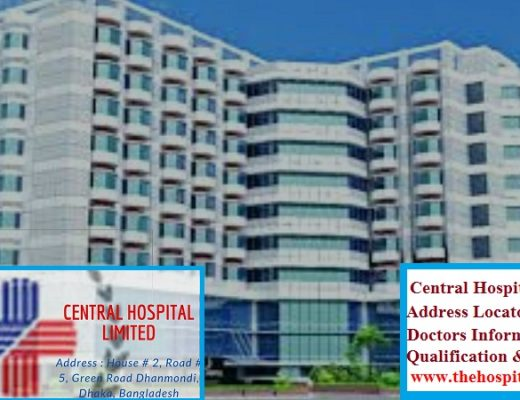 CENTRAL HOSPITAL Dhanmondi DHAKA address and doctor list
