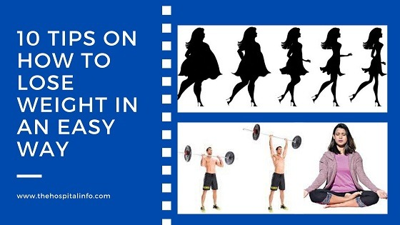 10 HEALTH TIPS ON HOW to LOSE WEIGHT IN AN EASY WAY