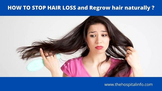 HOW TO STOP HAIR LOSS and Regrow hair naturally easy way