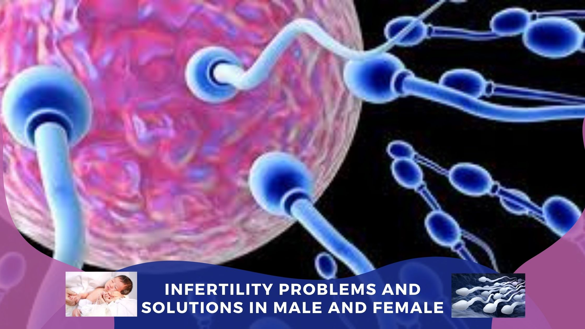 INFERTILITY PROBLEMS and SOLUTIONS in Male and Female