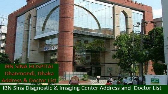 IBN SINA Diagnostic & Imaging Center Address and DOCTOR list