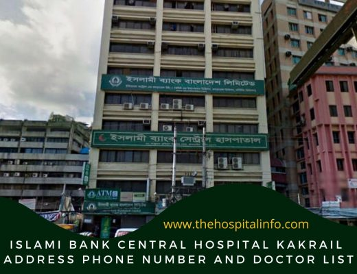 Islami Bank central hospital Kakrail address & Doctor List