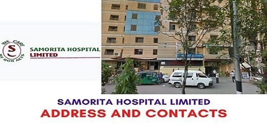 SAMORITA HOSPITAL LTD. DHAKA DOCTOR LIST & ADDRESS