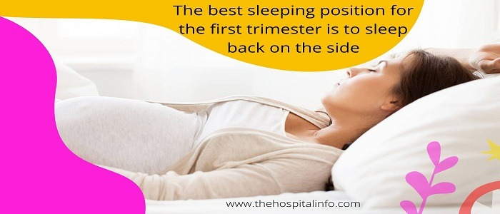 First Trimester BEST SLEEPING POSITION for Pregnant mothers