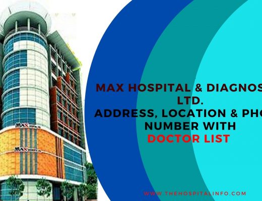 Max Hospital & Dianostic Center Ltd address contacts & doctor list