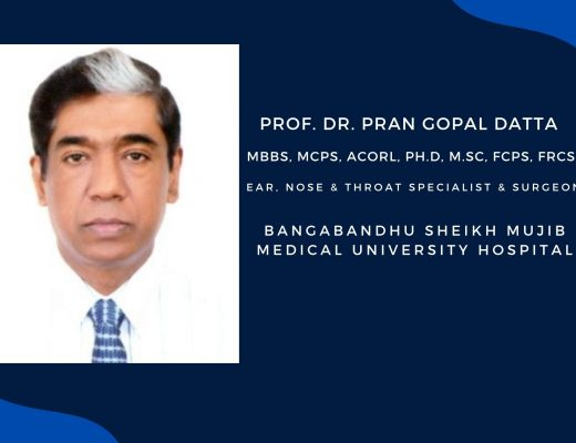 PROFESSOR DR PRAN GOPAL DATTA | EAR NoSE & THROAT SPECIALIST