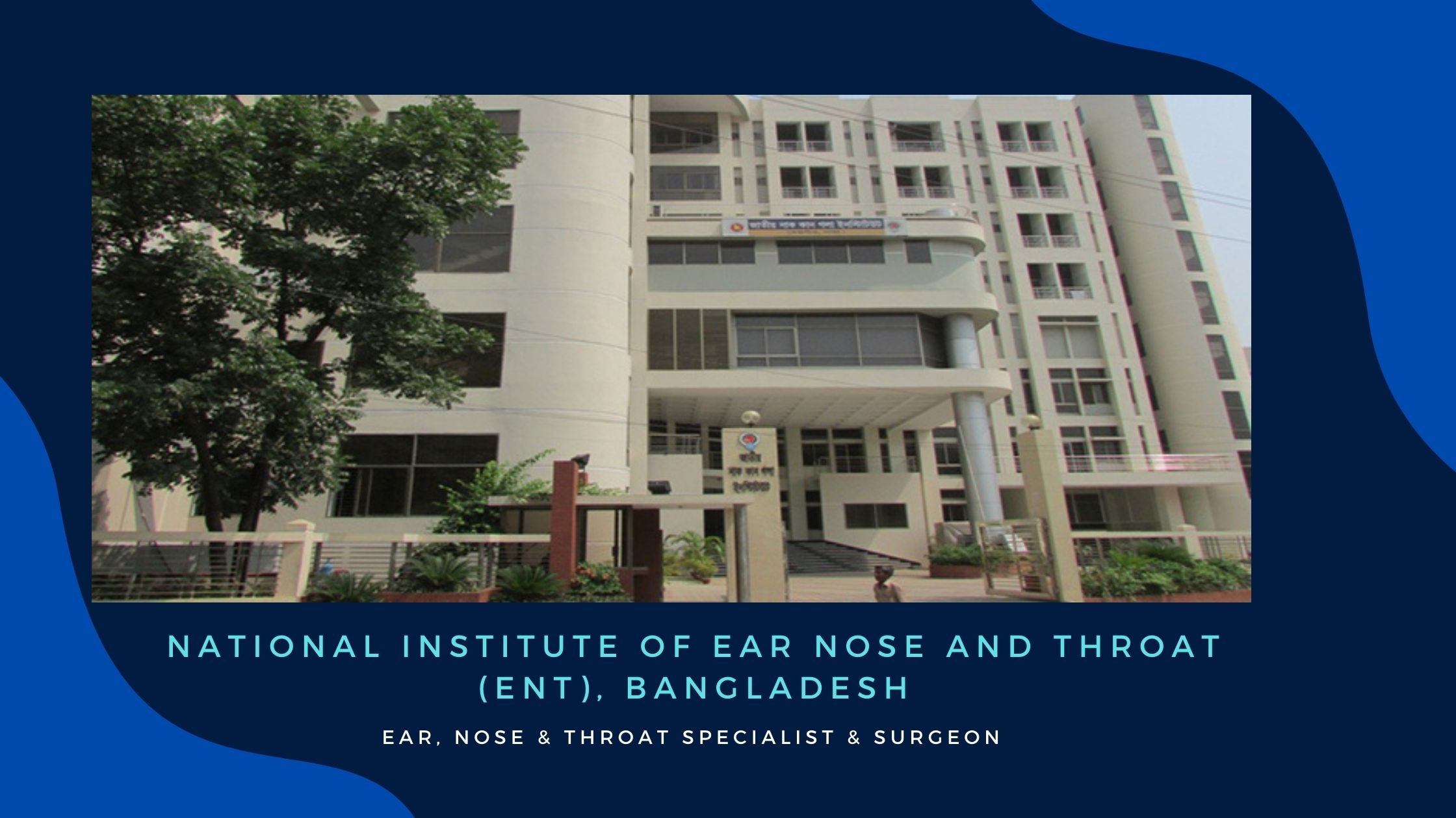 NATIONAL INSTITUTE OF ENT Hospital Address And Doctor List