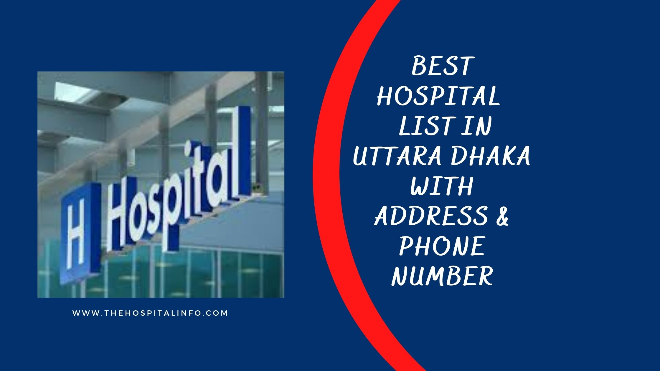 BEST Hospital LIST In UTTARA Dhaka WITH Address & Contacts