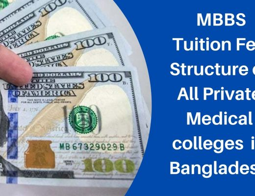 MBBS Tuition Fee Structure OF Medical College in Bangladesh