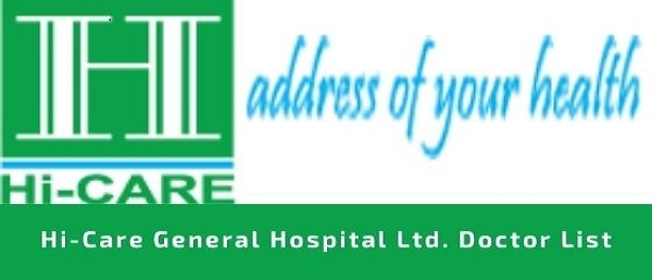 HI CARE General Hospital Limited ADDRESS Contact Doctor List